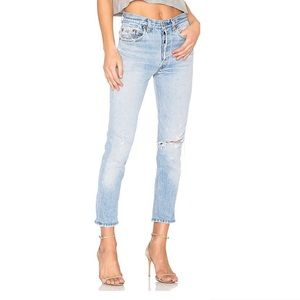 LEVI'S RE/DONE High Rise Ankle Crop Jeans Size 24